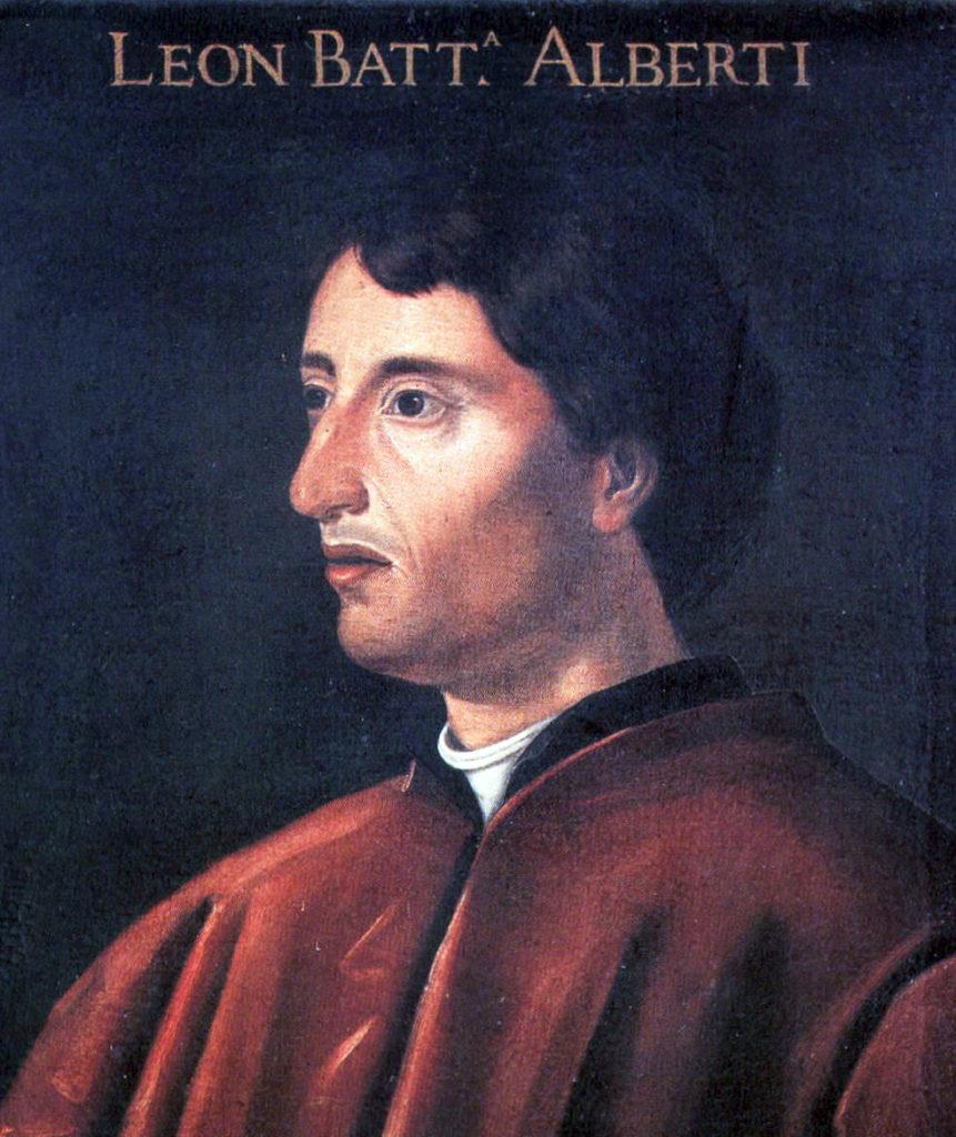 Leon Battista Alberti in gioventù