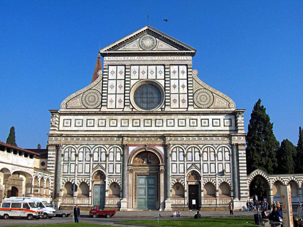 Basilica di Santa Maria Novella firmata Leon Battista Alberti