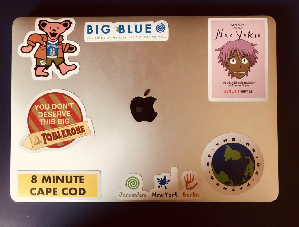 merchandies stickers